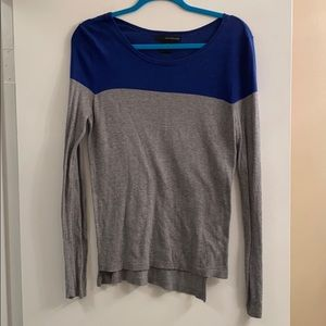 Blue and grey sweater, calvin klein